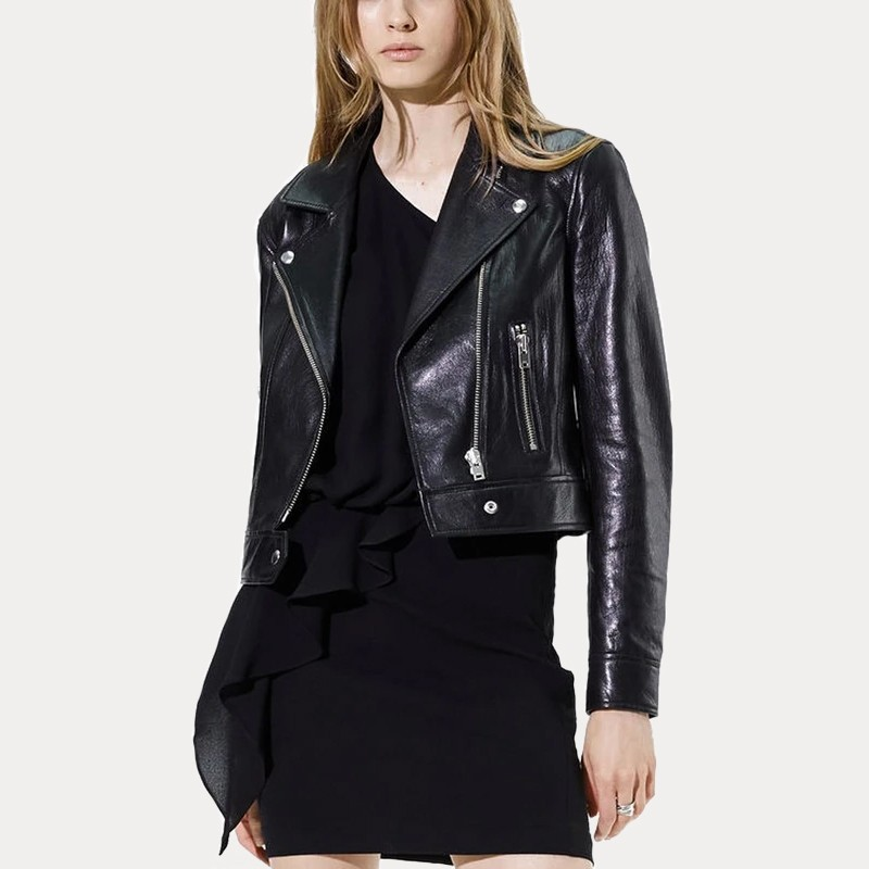Colette Black Women's Leather Jacket