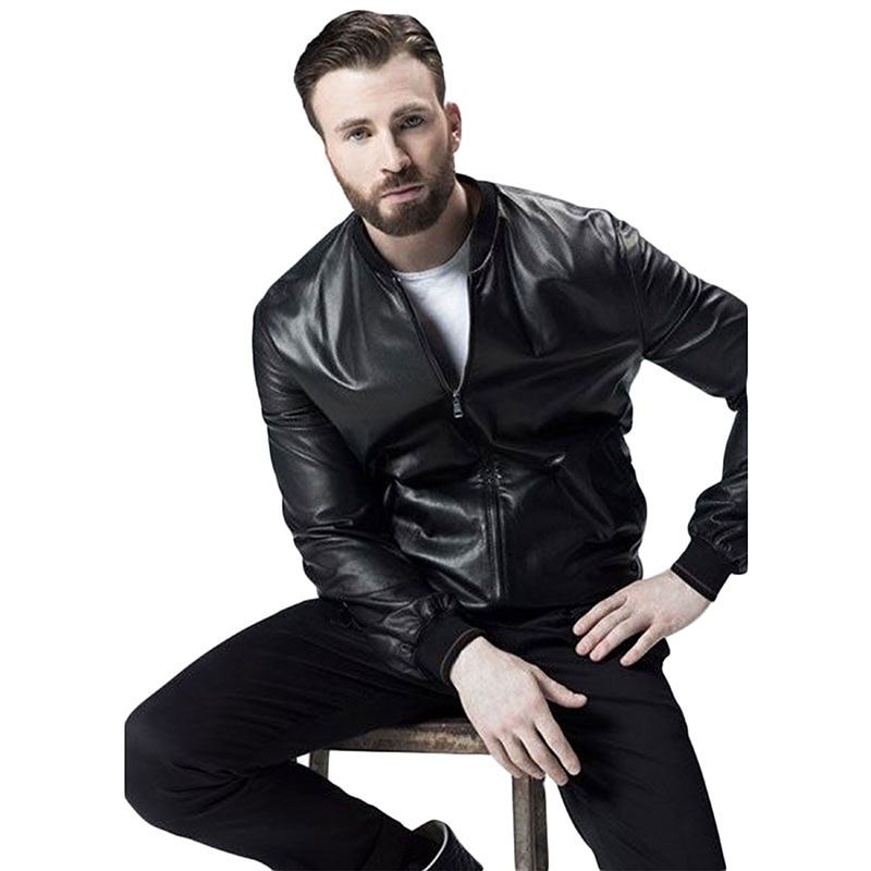 Chris Evans Leather Jackets