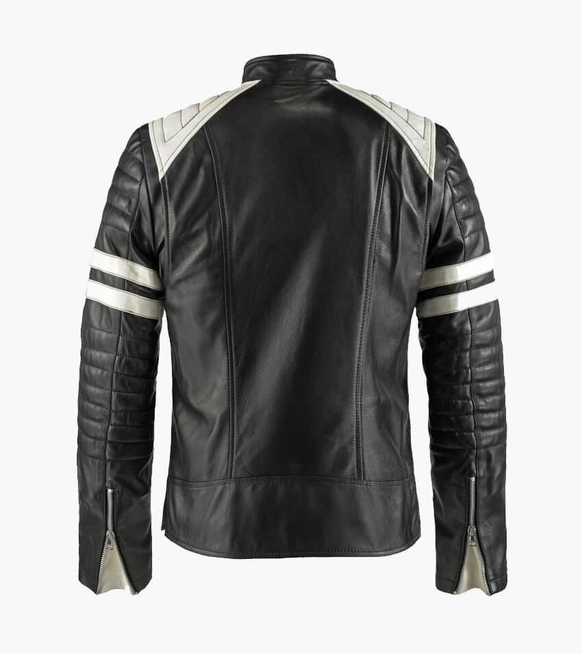 Tyler Durden Black & White Jacket