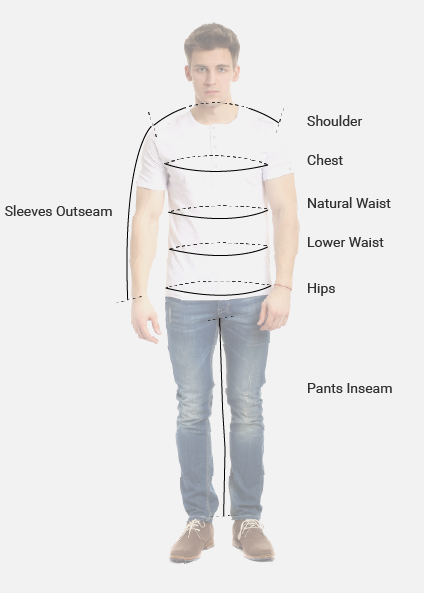 Mens Size Chart Image 01